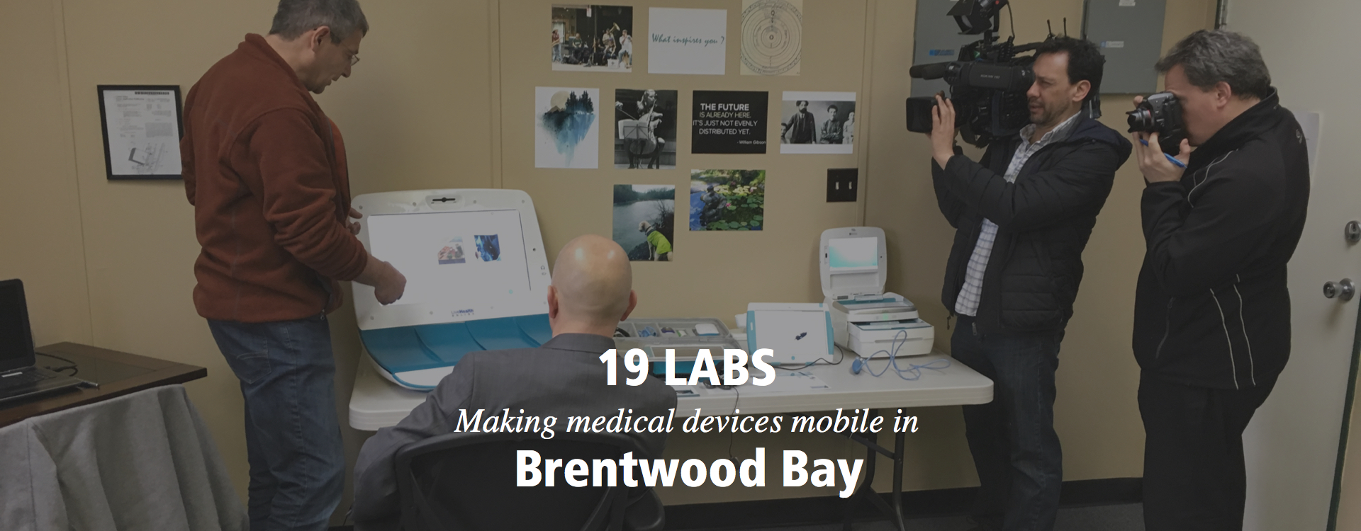 19 Labs making medical devices mobile in Brentwood Bay
