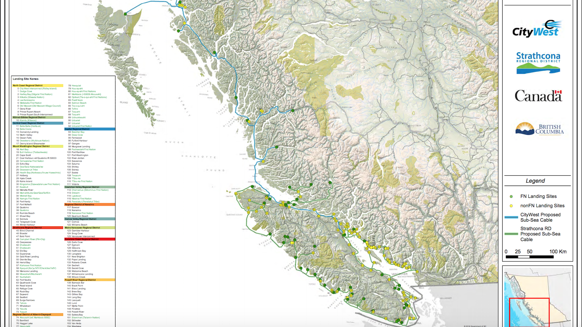 Connected Coast should include Galiano and Mayne