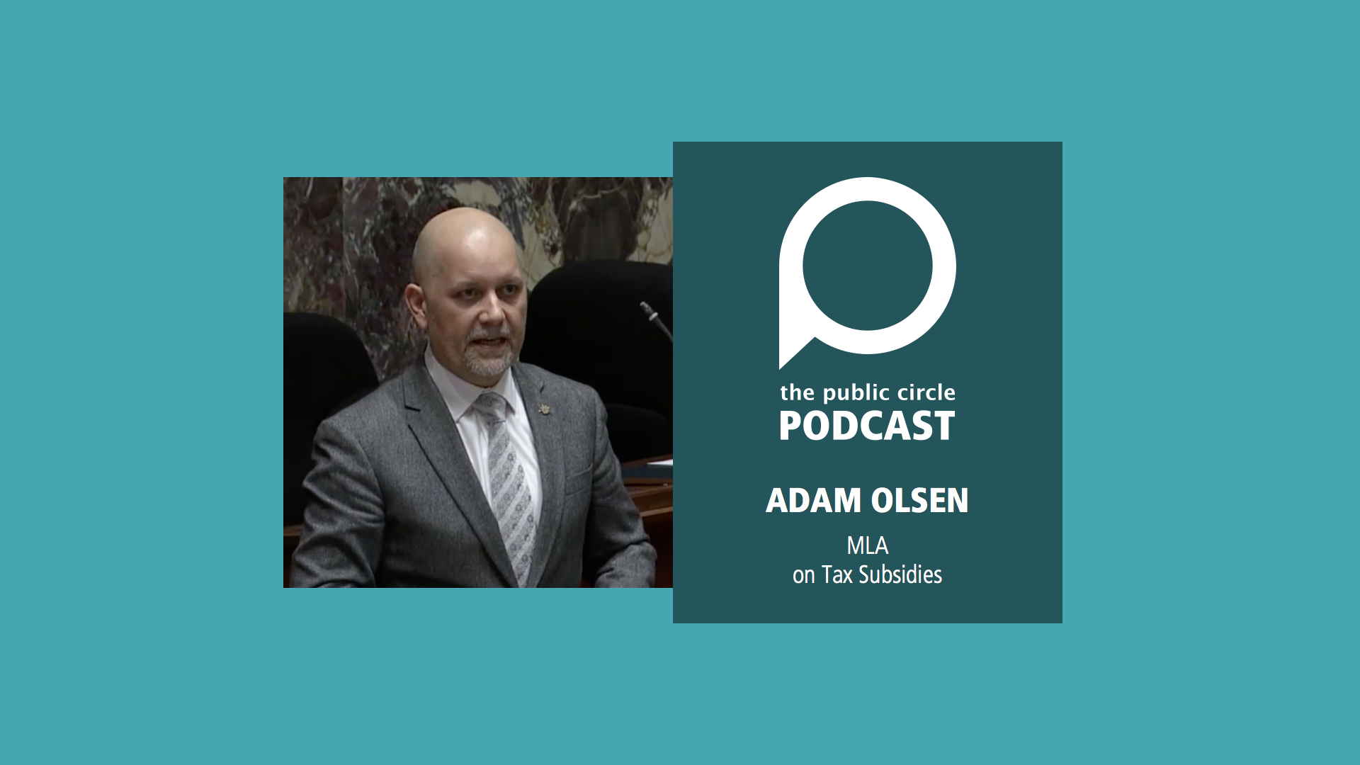 PODCAST: Adam Olsen on the LNG tax subsidies