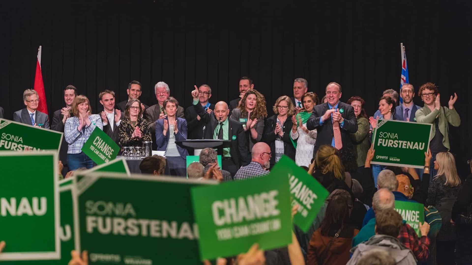 Greens emerging in Canadian political landscape