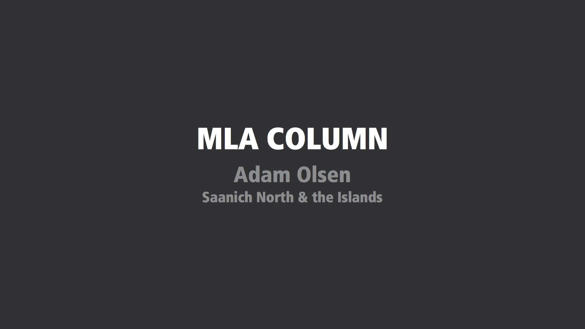 Column: Olsen continues work but offices close amid coronavirus concerns