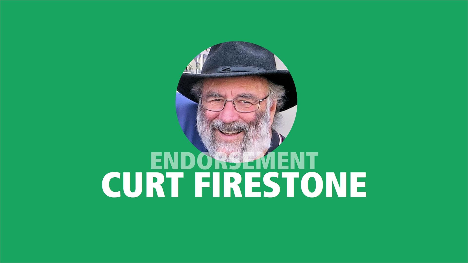 Curt Firestone endorses Adam Olsen