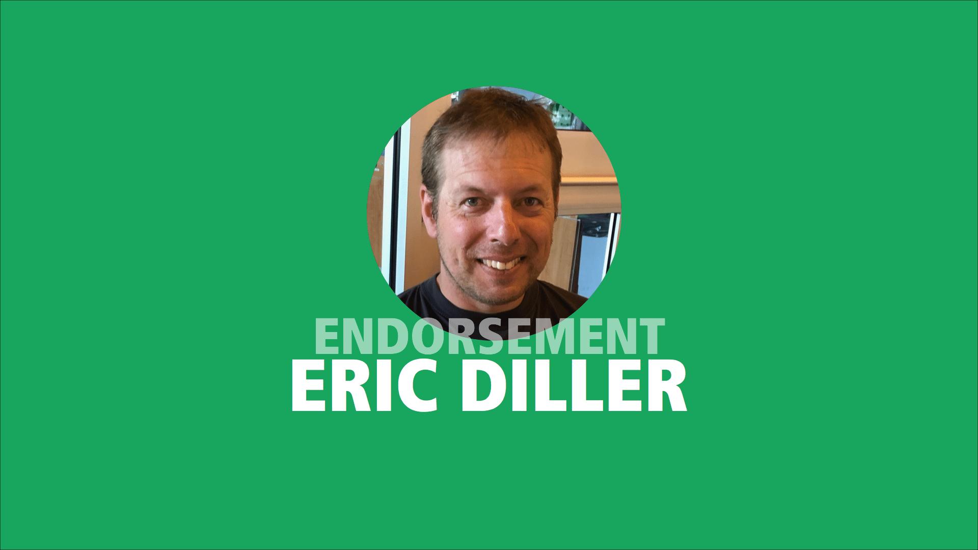 Eric Diller endorses Adam Olsen