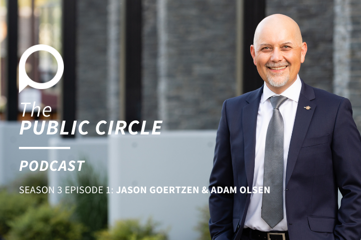 PODCAST: Jason Goertzen interviews Adam Olsen on family and politics
