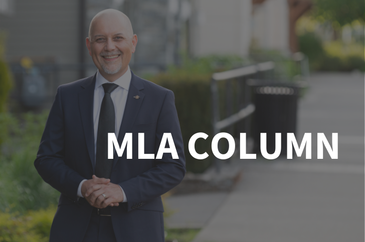 MLA Column: MLA Invites Thoughts On B.C.'S Policing Practices