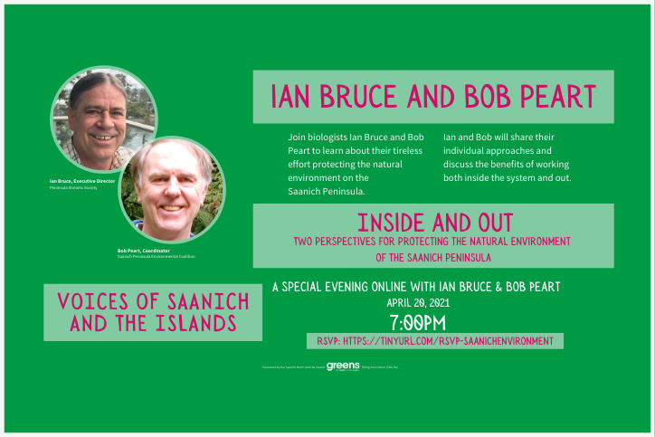 Voices of Saanich: Inside and Out with Ian Bruce and Bob Peart