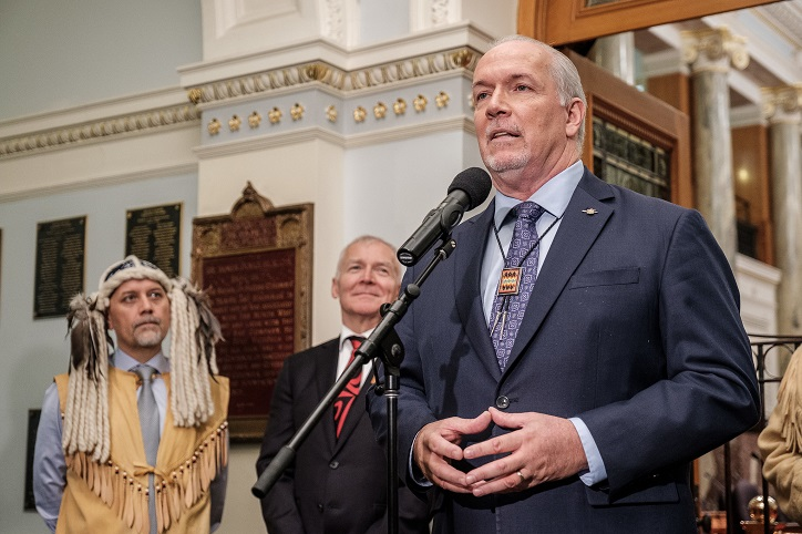 Forestry agreements expose Premier Horgan's rhetoric inconsistent with actions