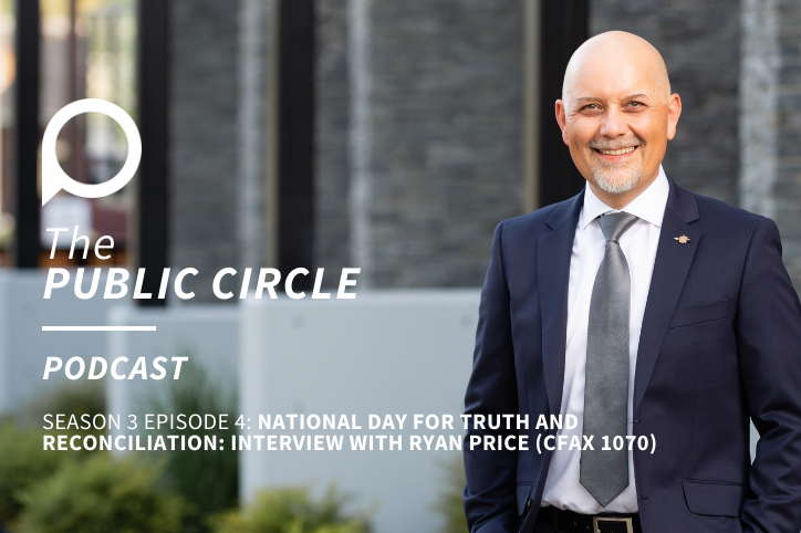 PODCAST: On National Day for Truth and Reconciliation (Interview from CFAX 1070 with Ryan Price)
